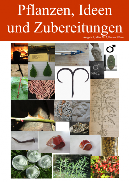 HEFT 1, Pflanzen, Ideen und Zubereitungen