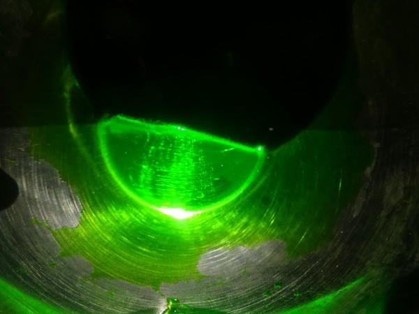 Grün, fluorescent