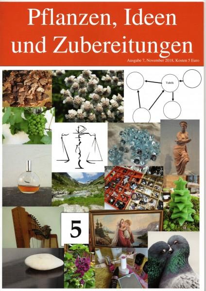 HEFT 7, Pflanzen, Ideen und Zubereitungen, Waage
