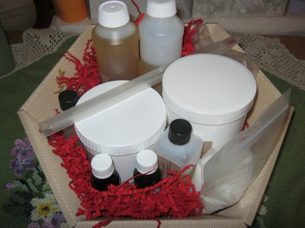 Starterset für Seifensieder