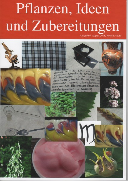 HEFT 6, Pflanzen, Ideen und Zubereitungen, Jungfrau