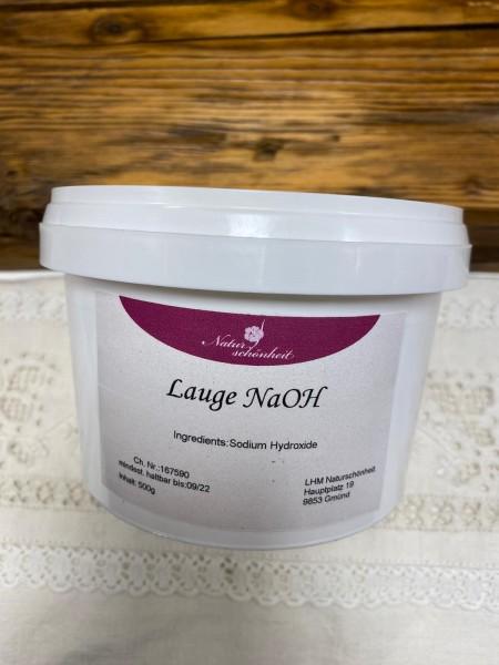 NaOH, Natriumhydroxid, Seifenlauge, Sichere Verpackung, 1kg