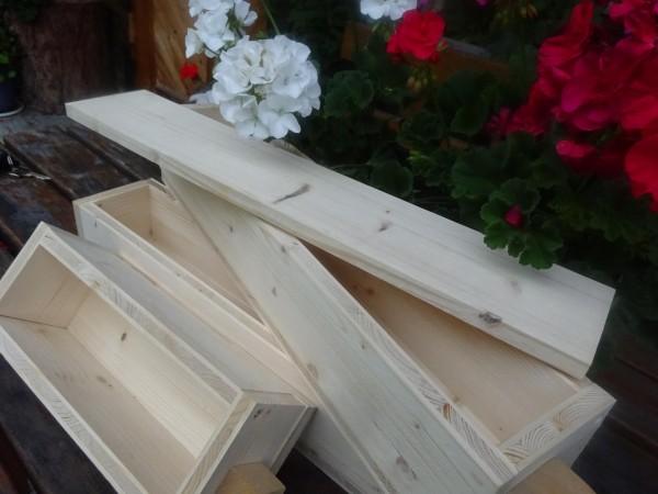 Seifenformen aus Holz, 2L, mit und ohne Deckel