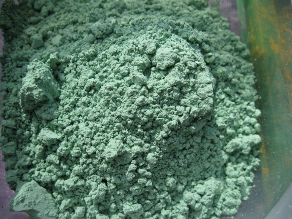 Mineralfarbe, Fichtengrün -5- (10 g)