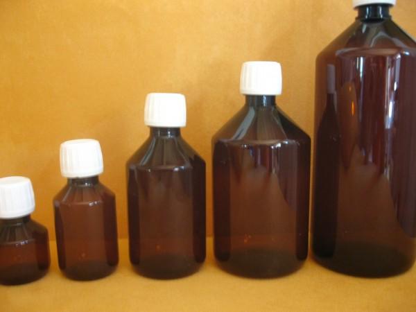 Braunflaschen, PET, ab 100St. 10%