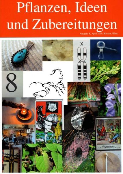 HEFT 8, Pflanzen, Ideen und Zubereitungen, Skorpion