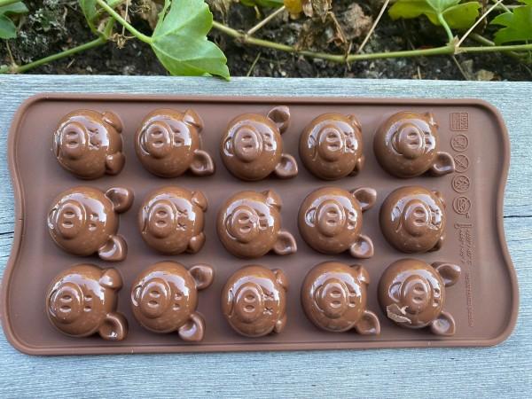 Minisilikonformen, Schweinchen