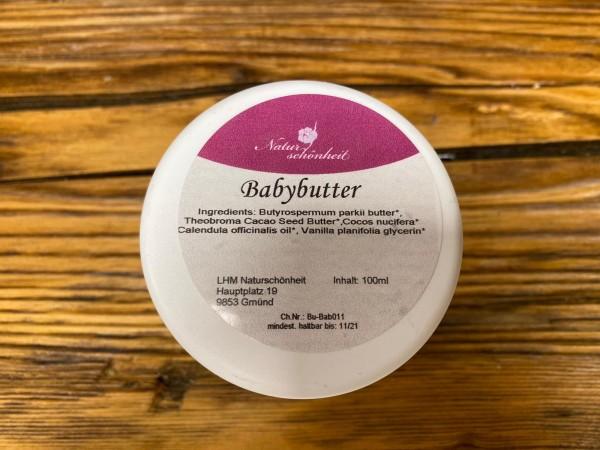 Butter, Baby und empfindliche Haut, 100ml