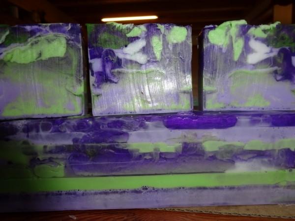 Lavendel/Eucalyptusseife, ca. 100g