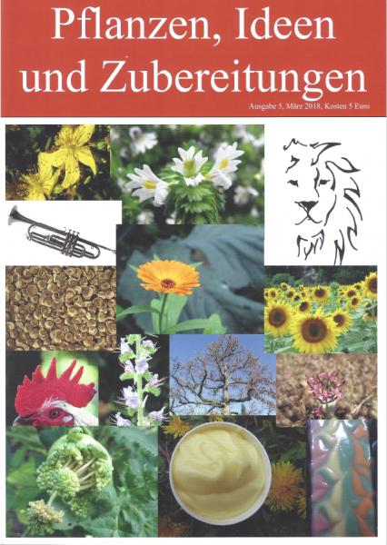 HEFT 5, Pflanzen, Ideen und Zubereitungen, Löwe