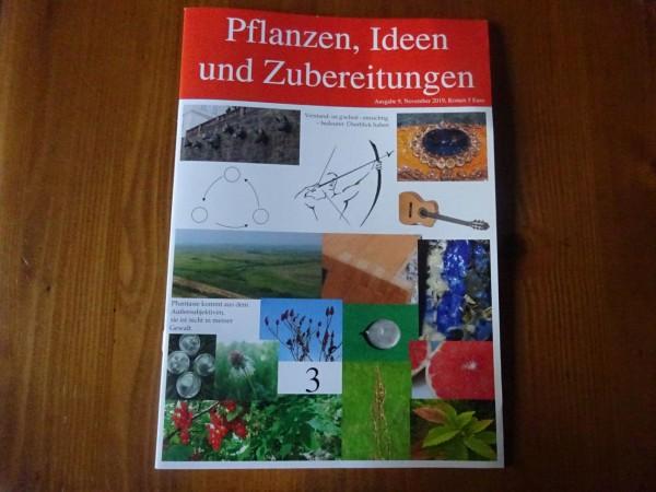 HEFT 9, Pflanzen, Ideen und Zubereitungen, Schütze