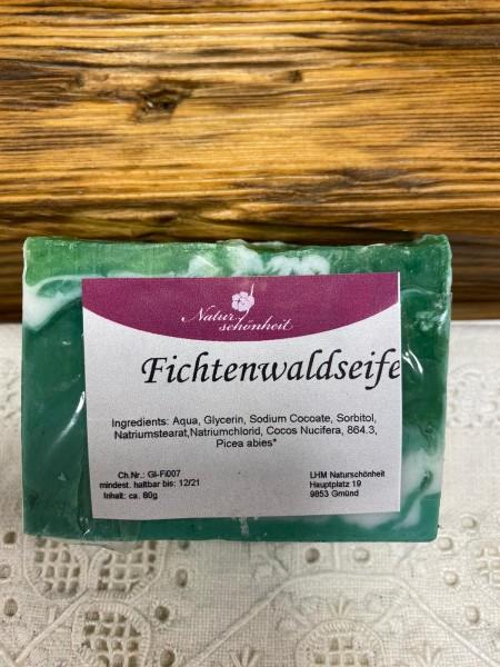 Fichtenwald, Ziegenmilchbasis, ca 100g