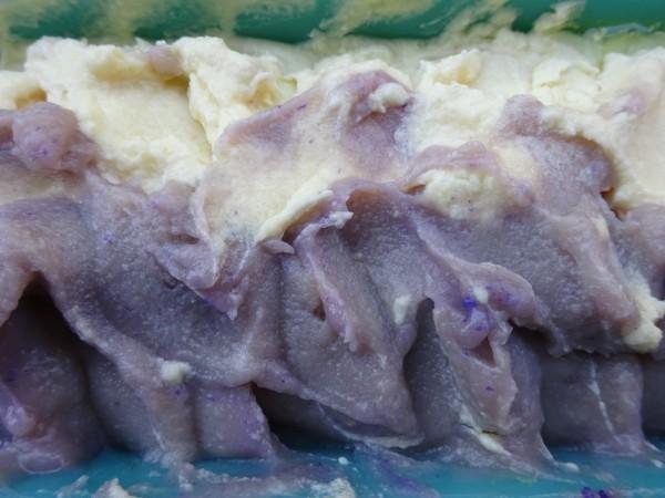 Lavendelseife mit Sheabutter, ca 100g